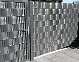 Sichtschutz Windschutz Hart PVC Streifen Zaun Blende zum...
