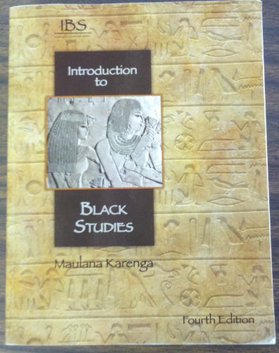 Title: INTRO.TO BLACK STUDIES