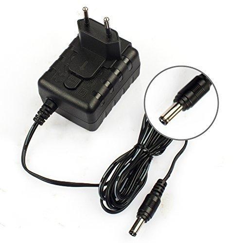 TomEasy® Universal Ladegerät Stecker Netzteil 12V 100mA 200mA 300mA 500mA 700 800mA 900mA 1000mA Max. 1A für Speedport W700V W701V W721V W722V W503V W900V W100 W101 CISCO Linksys WLAN Router WRT160N WRT160NE WRT160N-DE WRT54GL WRT54G WRT54GS und andere Netzteil Trafo Edimax IP Kamera Camera Überwachungskameras IC-7000PT DSA-12R-12 AEU120120 12V 1A 5,5 /2,5mm