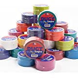 "30 Rolls Duct Tape 20yd x 2"" Bright Solid Colors DIY Crafts Blue Green Pink Teal"