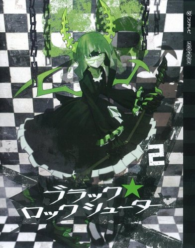 『ブラック★ロックシューター』Blu-ray第2巻