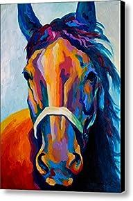 Horse Art Prints On Canvas Animal Pai…