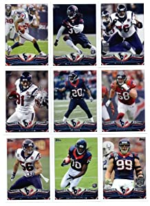 2013 Topps NFL Football Team Set (SEALED) - Houston Texans : 14 Cards > Duane... by Topps