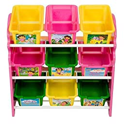 Dora the Explorer 9-Bin Toy Organizer