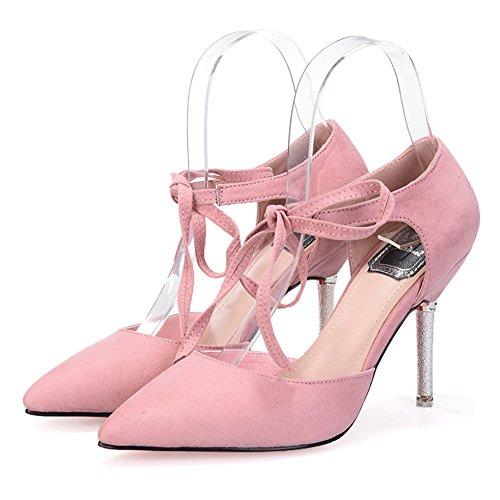 Cross-strap sandals/talons pointus/Dans une seule chaussure/Spring Chaussures