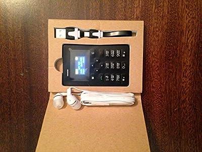 LASCOM INDIA Ultra Slimmest ATM Card Mobile Phone M5 WHITE