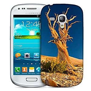 Snoogg Tree Without Leaves Printed Protective Phone Back Case Cover For Samsung S3 Mini / S III Mini