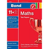 Bond 11+ Test Papers Maths Standard Pack 2by Sarah Lindsay
