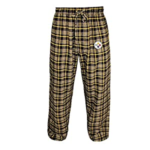 Pittsburgh ST-Shirtlers Adult Empire Flannel Pants from Concept Sport