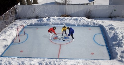 The Kids Fun Company AIR 2550 Backyard Ice Skating Rink