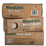 Woolzies- Wool Dryer Balls, Natural Fabric Softener, 3 Pack Size: 3 Pack (Baby/Babe/Infant - Little ones)