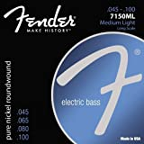 Fender 7150ML Pure Nickel Bass Guitar Strings