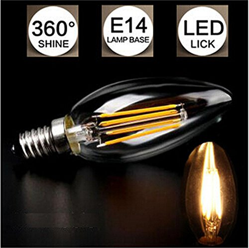 Glitz-4W-E14-Candle-style-&-Filament-LED-B0ulb-(Warm-white)