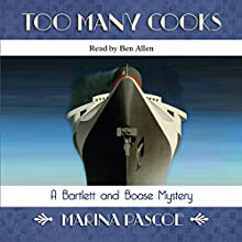 Too Many Cooks Audiobook by Marina Pascoe Narrated by Ben Allen