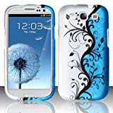 Cell Phone Case for AT&T,T-Mobile,Sprint,Verizon Samsung I9300 Galaxy S 3 - Blue Vines