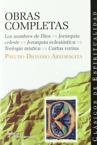 Pseudo dionisio areopagita obras completas