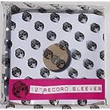 "10 x 12"" inch Vinyl Record Album LP White Paper Inner Sleevesby Vinyl Guru"