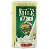 Better Than Milk Vegan Beverage Mix, Rice, Original, 21.4-Ounce Canisters (Pack of 2) ~ Better Than Milk
