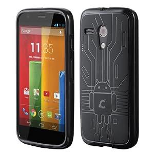 Motorola Moto G Cruzerlite Bugdroid Circuit Case for Motorola Moto G - Black