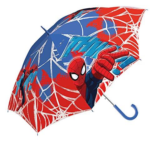 Marvel Ultimate Spiderman 16'' Ombrello Classico, 40 cm, Multicolore