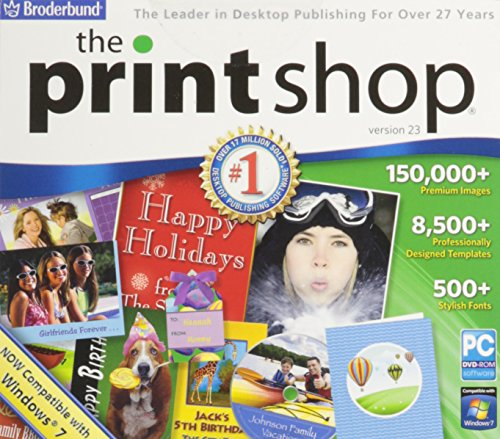 The Print Shop v.23 (Printing Programs compare prices)
