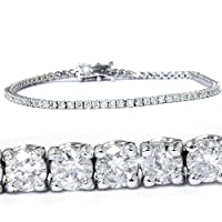 2.00CT Diamond Tennis Bracelet 14K White Gold by Pompeii3 Inc.