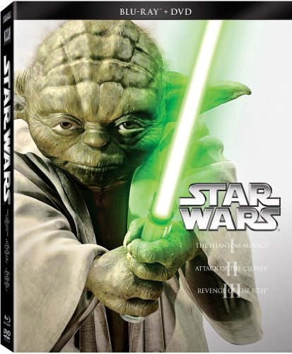 with Star Wars DVD's design