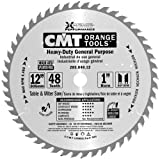 CMT 285.048.12 Industrial Heavy-Duty General Purpose Blade and  12-Inch by 48 Teeth 30-Degree ATB with 1-Inch Bore
