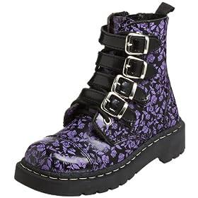 vegan strappy doc martens look alike boots