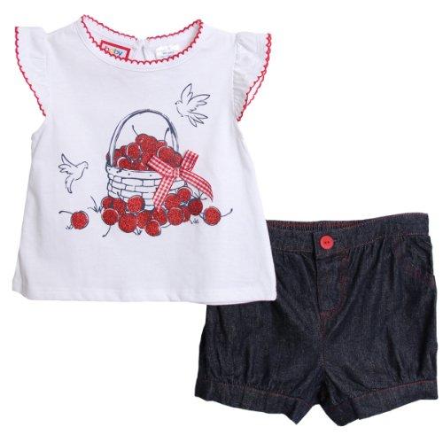 Infant Girl Summer Clothes front-622987