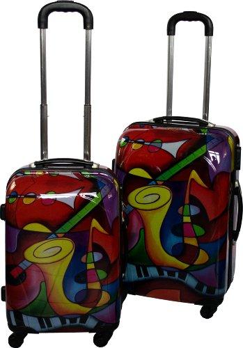 Polycarbonat hochglanz Koffer mit verschiedenen