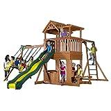 Backyard Discovery Thunder Ridge All Cedar Wood Playset Swing Set - Best Reviews Guide