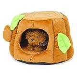 PetStyle 切り株型 ペットベッド 犬 猫 ベッド おもしろハウス