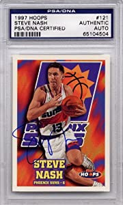 Steve Nash Phoenix Suns PSA DNA Certified Authentic Autograph - 1997 Hoops... by Hoops