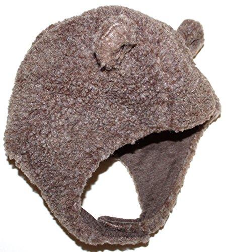 baby-gap-0-3-6-mo-brown-faux-sherpa-trapper-hat-w-bear-ears