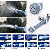 Pink Pari Ez Jet 8 In 1 Water Spray Gun For Gardening, Car Wash & Home Cleaning
