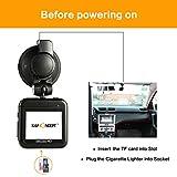 K&F Concept ドライブレコーダー 高画質 G-Sensor 衝撃録画 動き検知 170度広角 夜間撮影 ループ録画