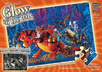 Wizards in the Woodlands GLOW 100pc Puzzle