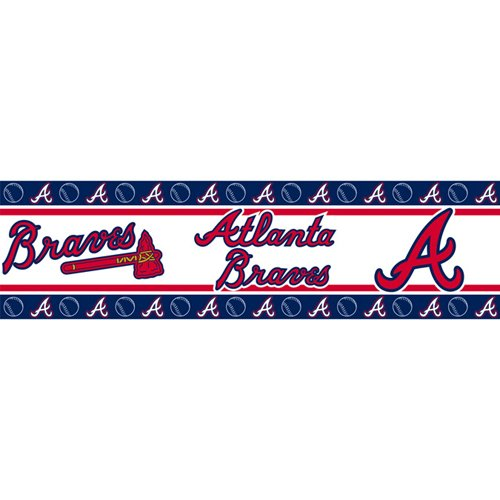 MLB Atlanta Braves Wall Border at Amazon.com