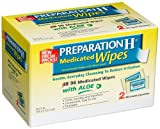 Preparation H Medicated Wipes, 96-Count Package