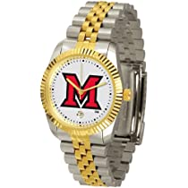 "Miami Ohio Redhawks NCAA ""Executive"" Mens Watch"