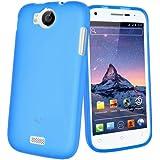 Mocca Design Gel Frost Housse en silicone pour Wiko Cink Peax Bleu