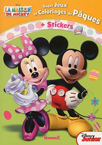 La maison de Mickey - Super Jeux et Coloriages de Pâques