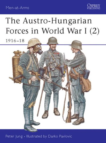The Austro-Hungarian Forces in World War I (2): 1916-18 (Men-at-Arms) (v. 2)