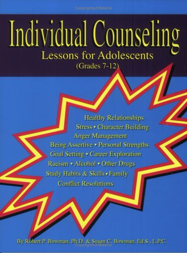 Individual Counseling, Lessons for Adolescents (Grades...