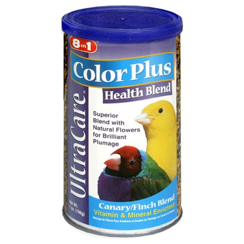 Cheap 8in1 Canary/Finch Color Food, 7-Ounce (B515)