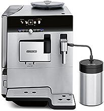 Siemens TE809511DE Kaffeevollautomat EQ.8 series 900 (1600 W, extra starker Kaffee, farbiges TFT-Display, Cappuccinatore) Edelstahl