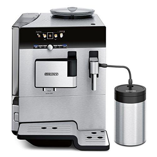Siemens TE809511DE Kaffeevollautomat EQ.8 series 900 (1600 W, extra starker Kaffee, farbiges TFT-Display, Cappuccinatore) Edelstahl thumbnail