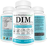 DIM Supplement 250mg Plus BioPerine, Dong Quai, Vitamin D, Organic Alfalfa & Broccoli. Menopause Relief, Hormone Balance, Hormonal Acne, PCOS Treatment & Aromatase Inhibitor (For Men and For Women)