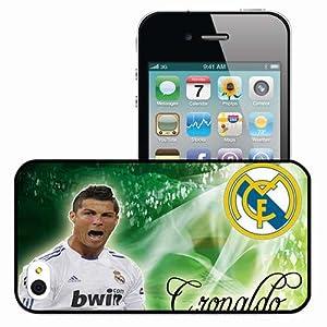 Cover Skin Wallpaper Cr7 Cristiano Ronaldo Real Madrid Football Black